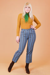 Vintage 1960's The Beat Goes On Stripe Pants