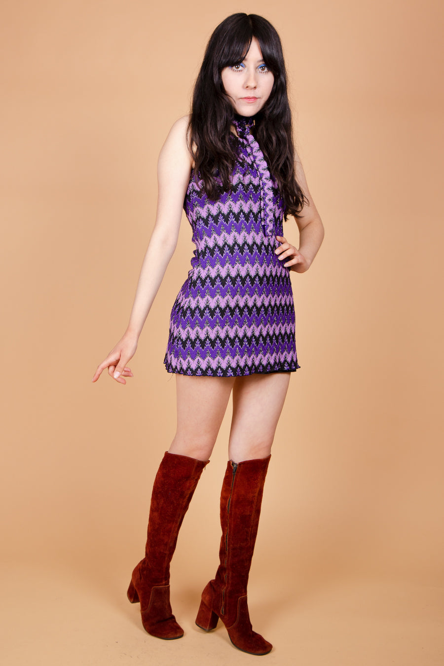 Vintage 1970's Bebe Buell Mini-Dress