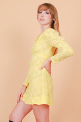 Vintage 1960's Sunshine and Daisies Mini-Dress