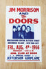 The Doors and Jefferson Airplane - NYC 1966 Poster