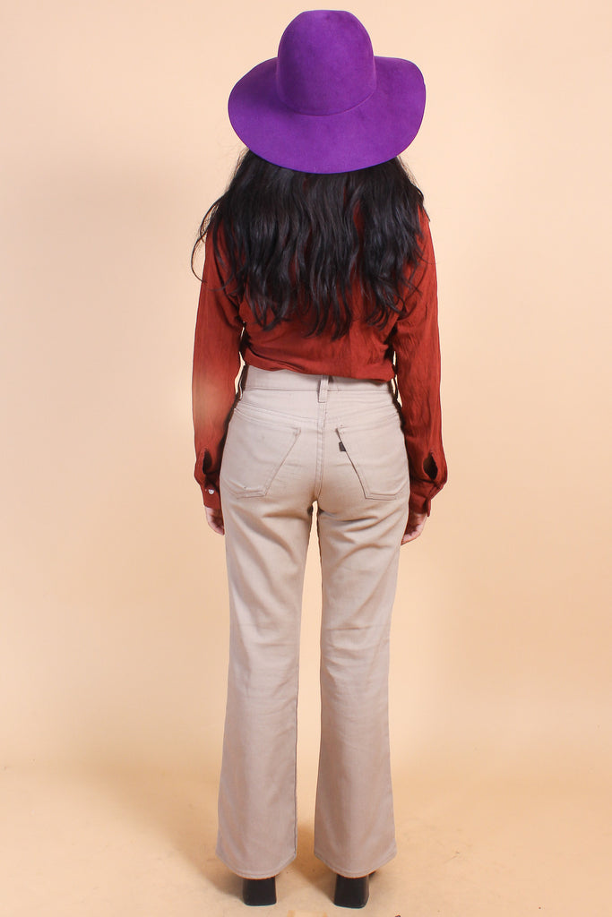 Vintage 1970's Castles Made of Sand Pants