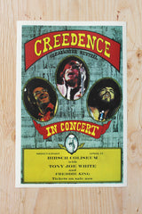 Creedence Clearwater Revival - Shreveport 1972 Poster