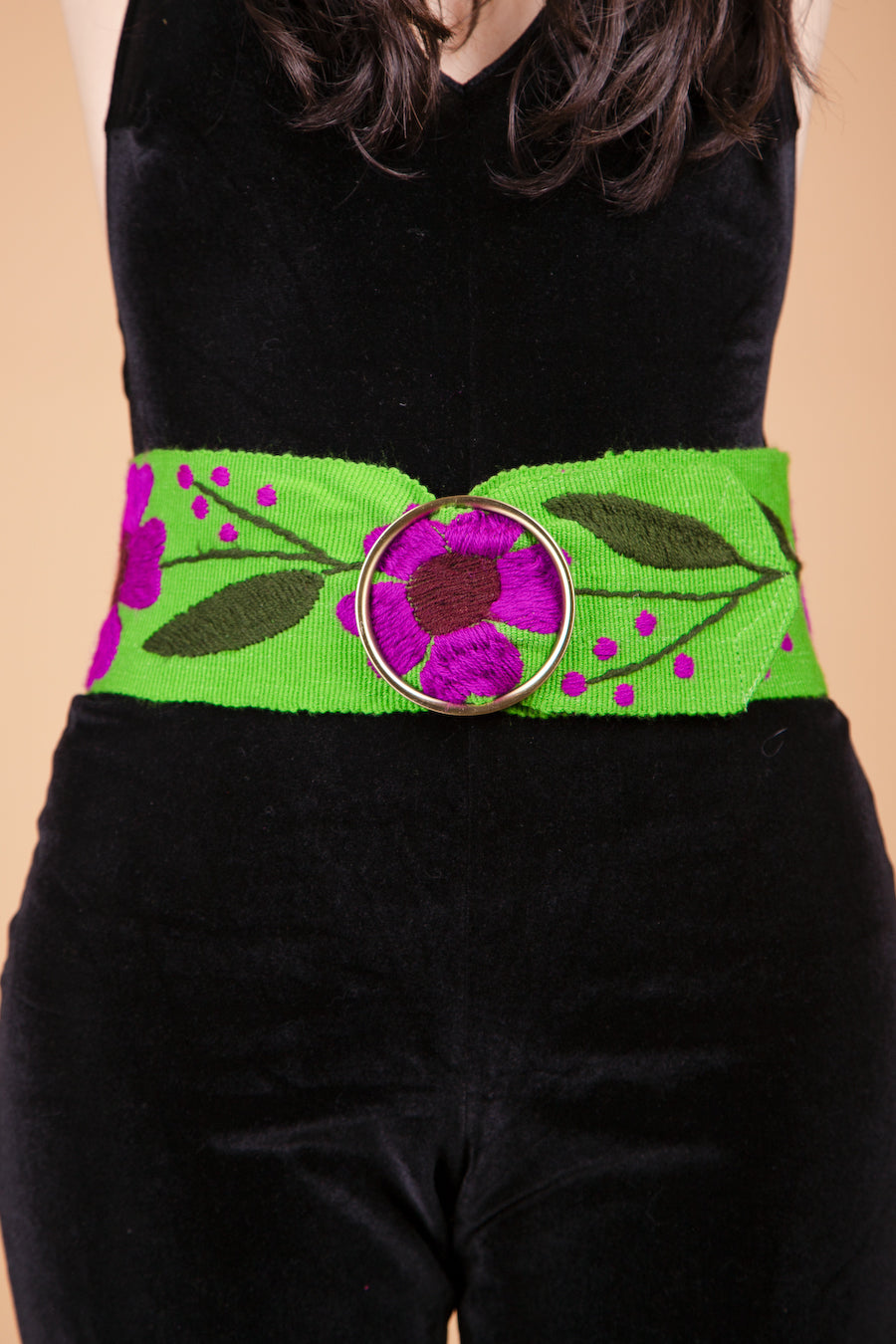 Pattie Boyd Belt in Clover