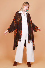 Vintage Autumn Afternoon Duster Jacket