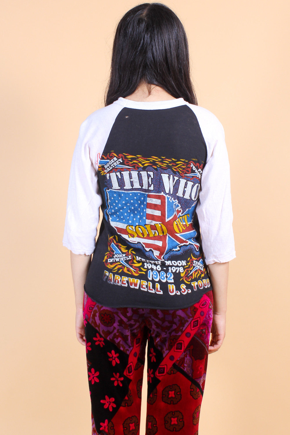 Vintage 1982 The Who Tour Tee