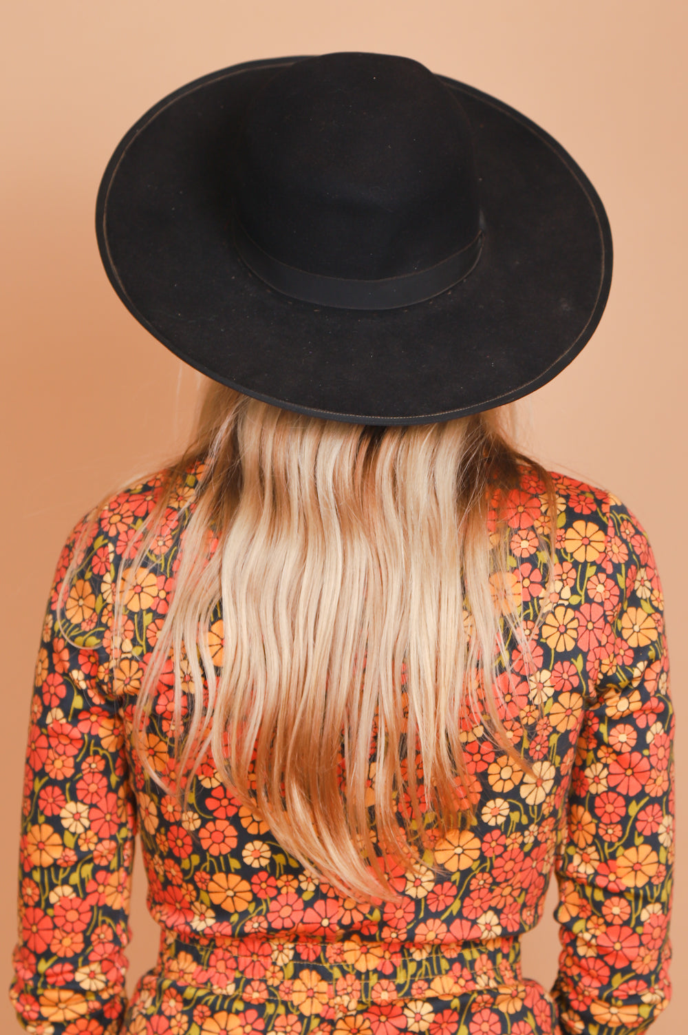 Vintage 1970's Stevie Onyx Wide Brim Hat