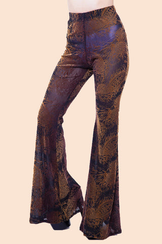 Vintage 1970's Iconic Have a Nice Day Leather Pants
