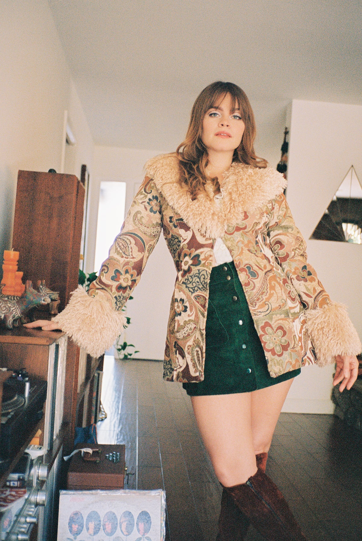 Penny Lane Coat in Incense
