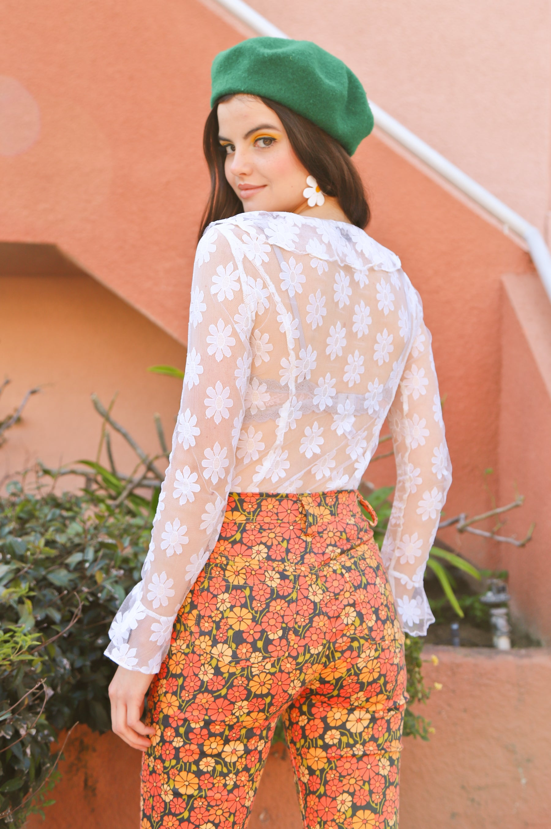 The Daisy Lace Blouse