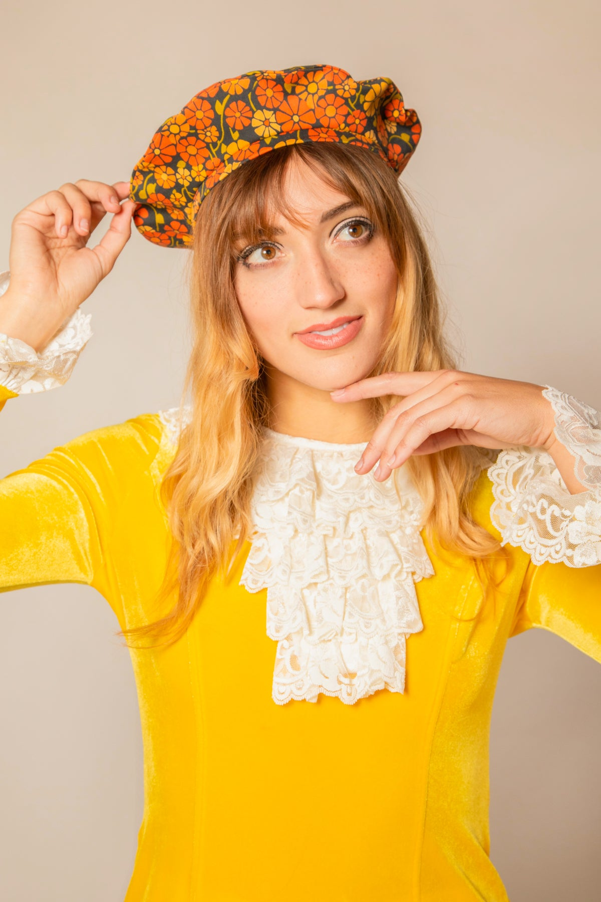 The Marigold Beret