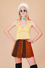 Vintage 1970's Woodstock Fox Halter Top
