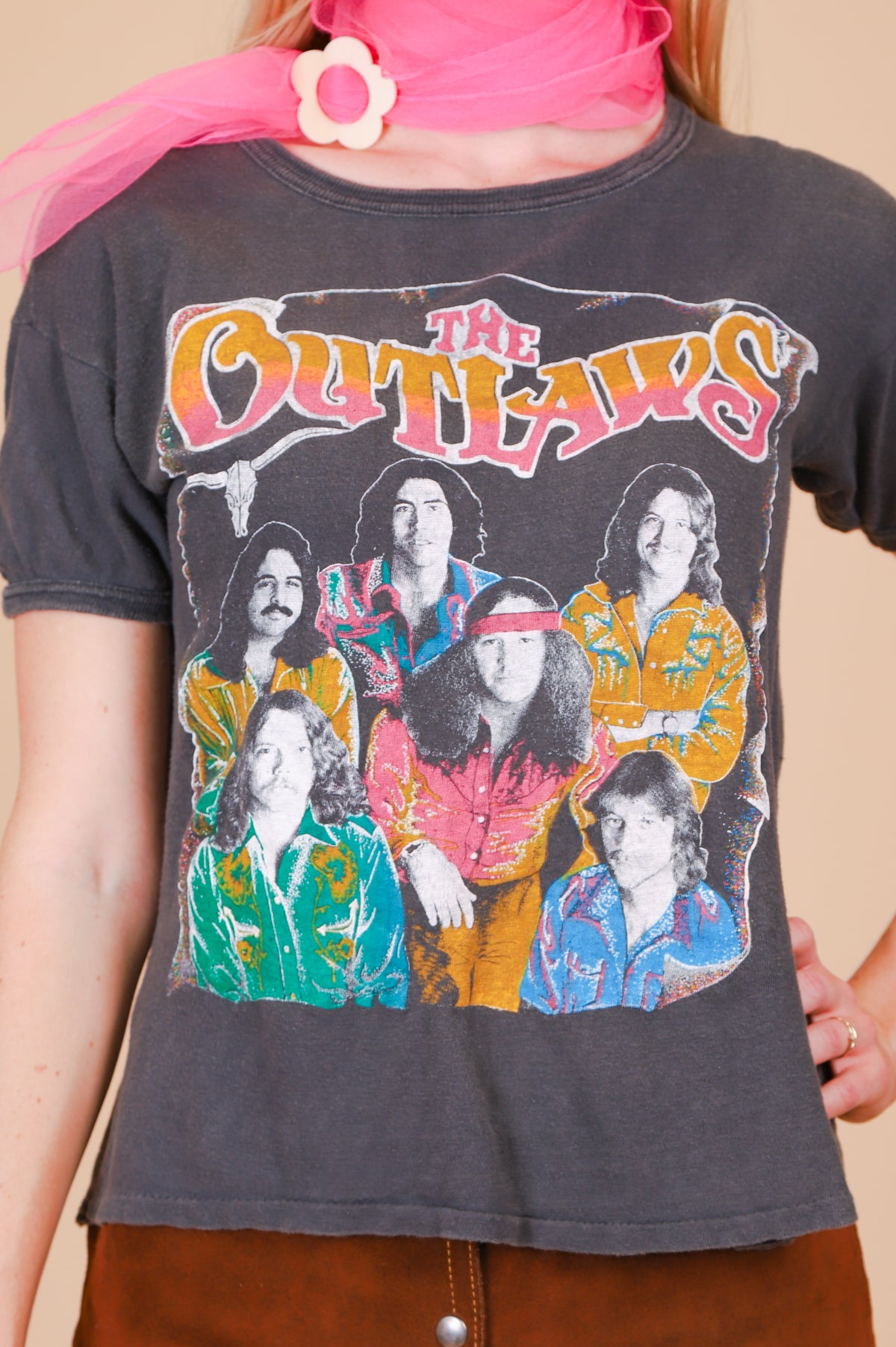 Vintage 1979 The Outlaws Tour Tee