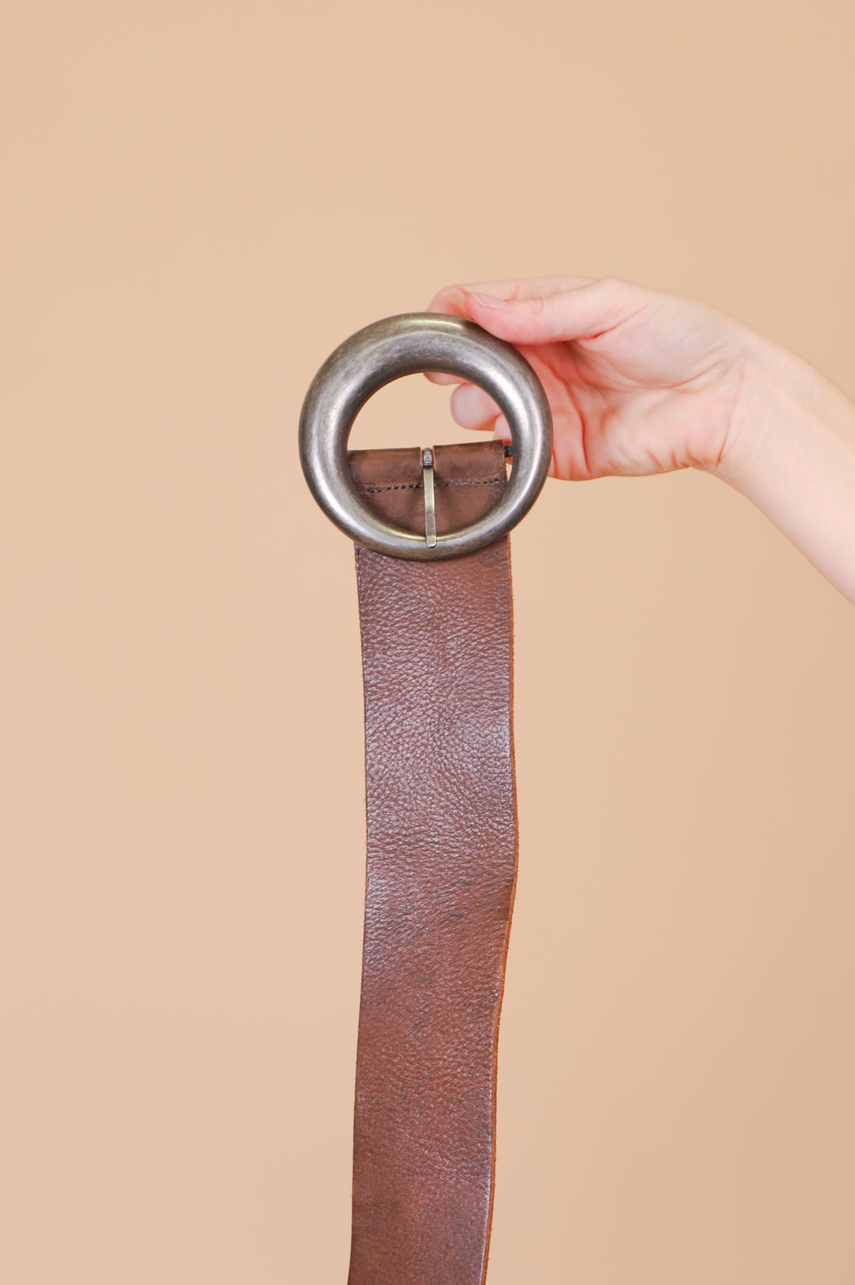 Vintage 1970's Stoned Immaculate Leather Belt
