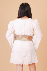 Vintage 1970's Rising Sun Tan Belt