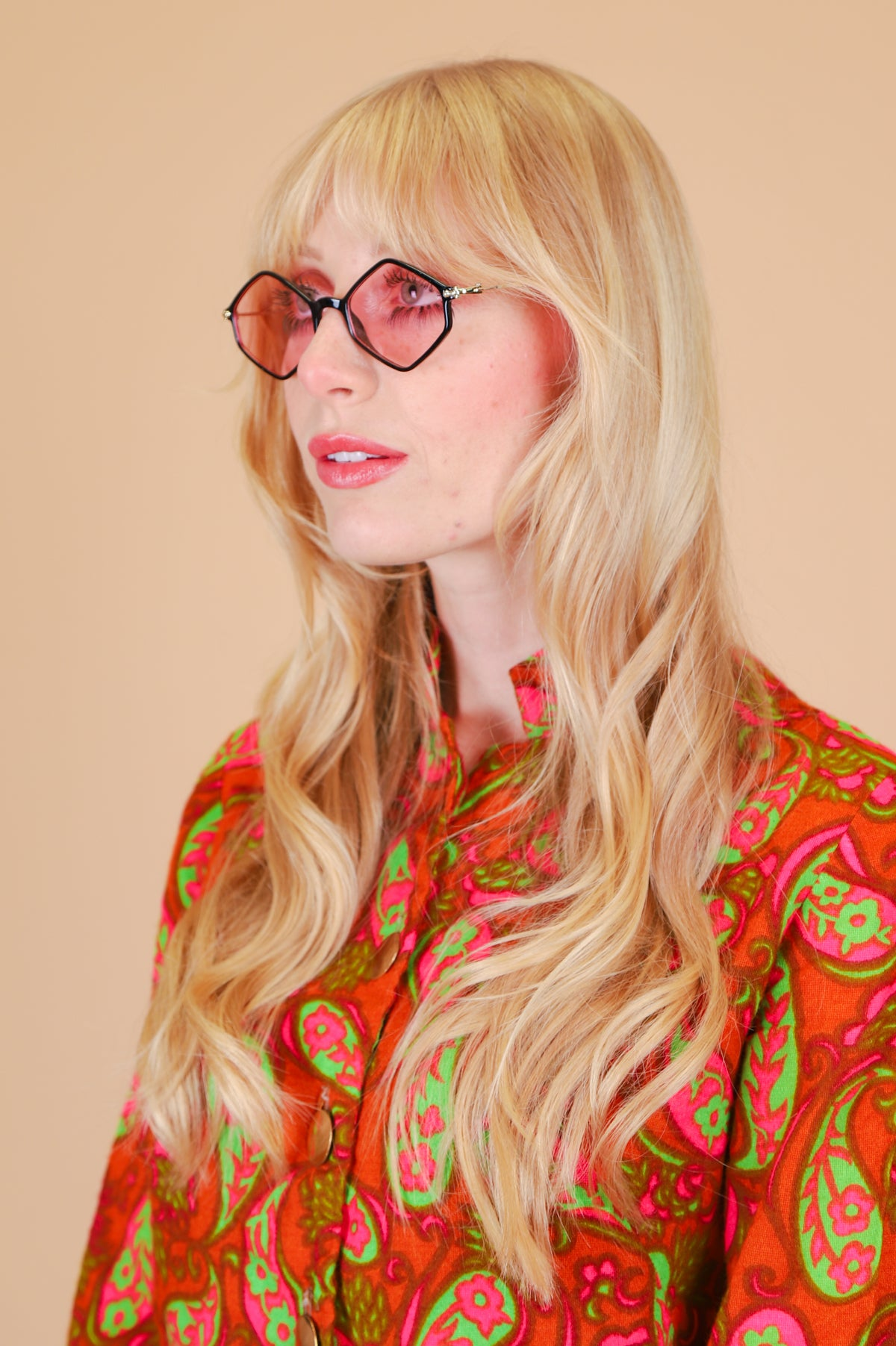 Ziggy Sunglasses in Rose