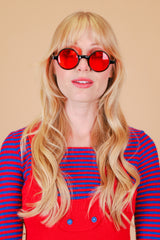 Karina Sunglasses in Cherry