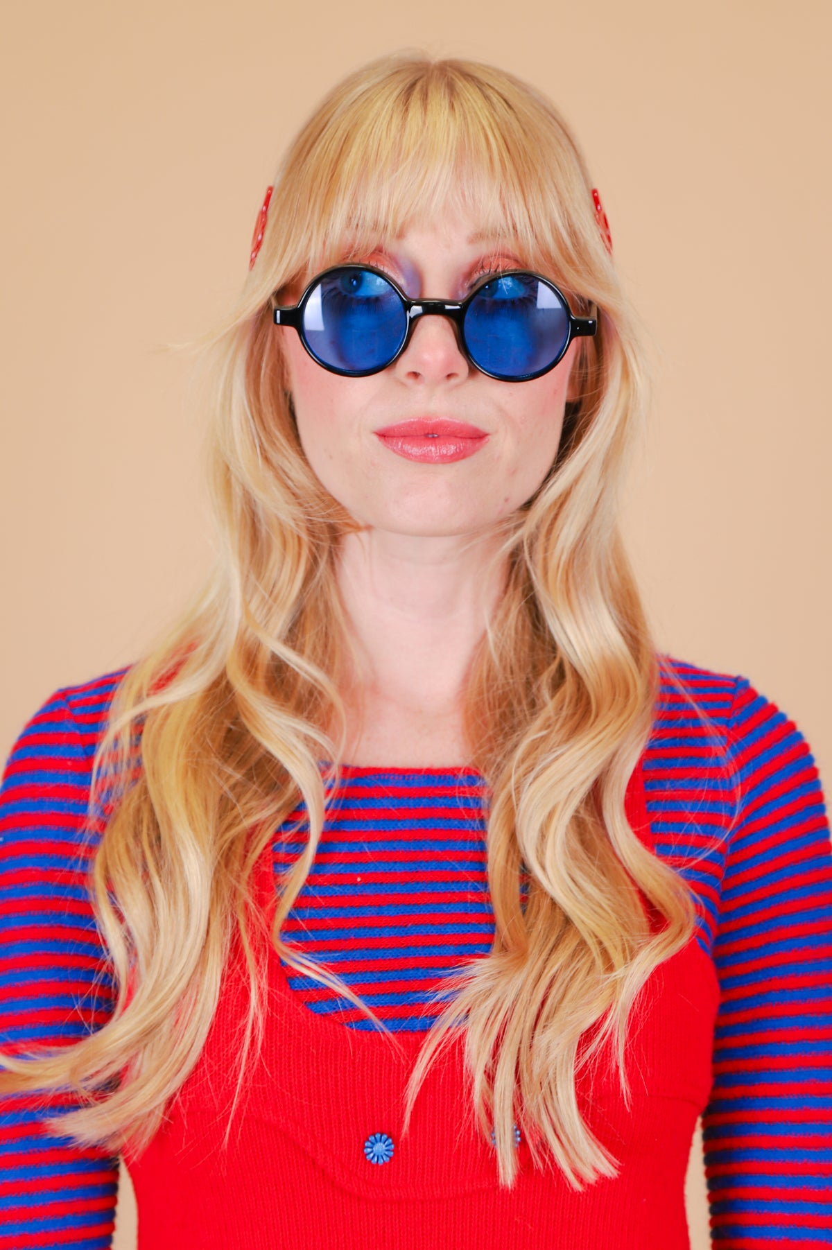 Karina Sunglasses in Blue