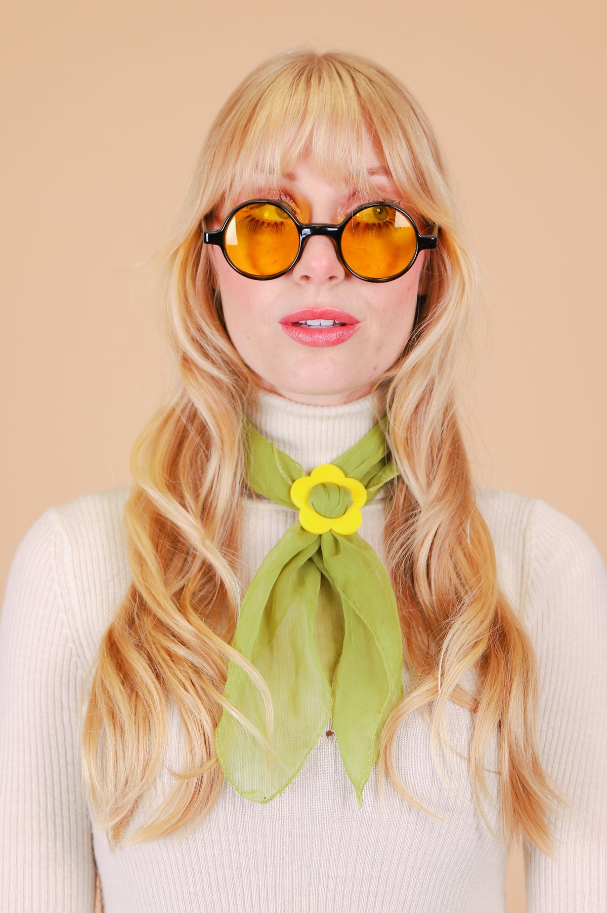 Karina Sunglasses in Yellow