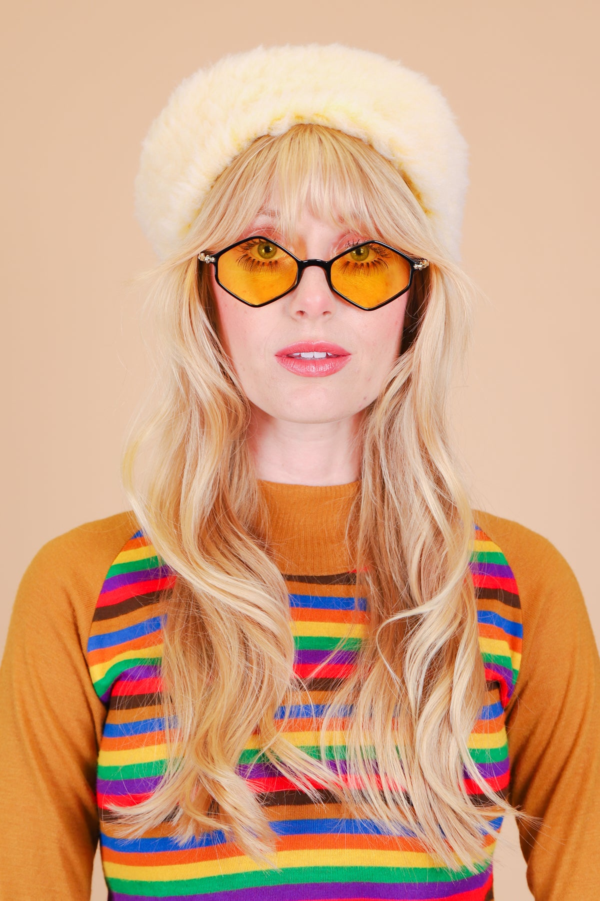 Ziggy Sunglasses in Yellow