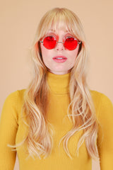 Pattie Sunglasses in Cherry