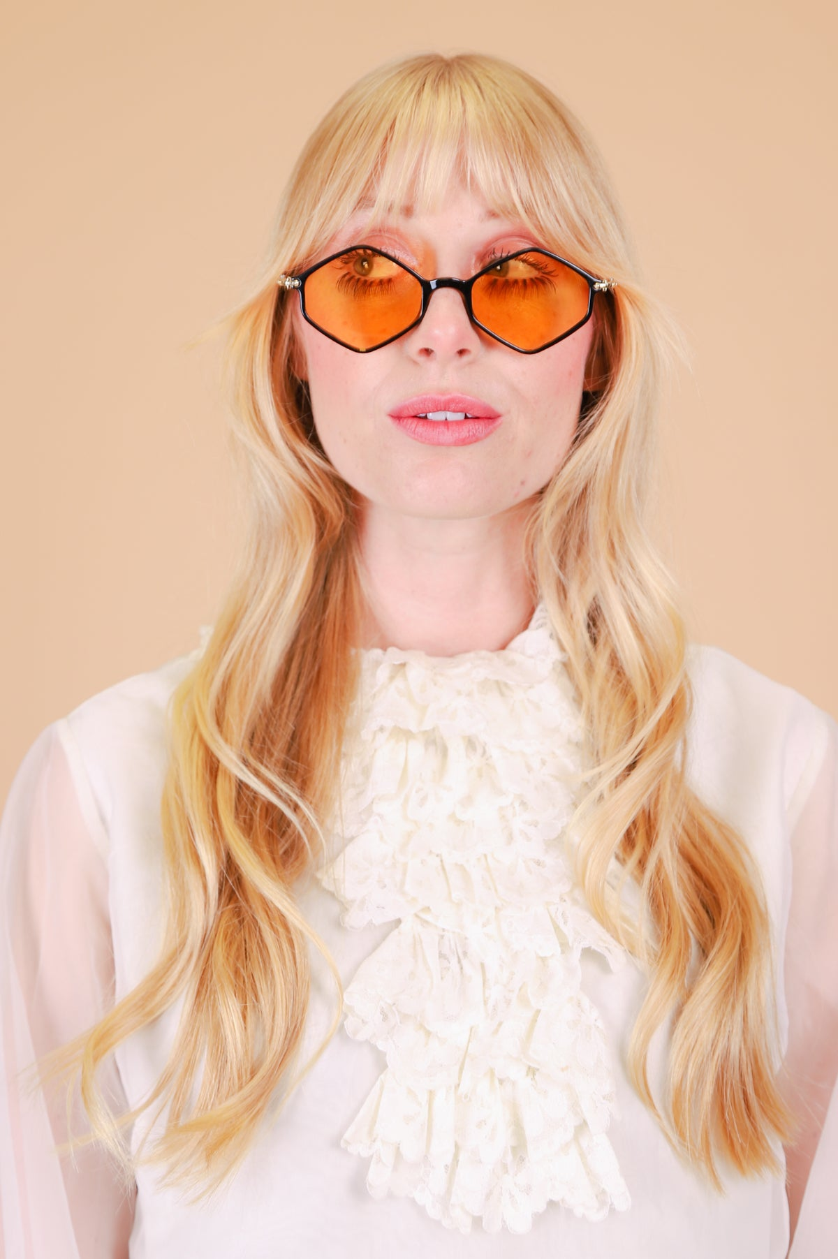 Ziggy Sunglasses in Honey