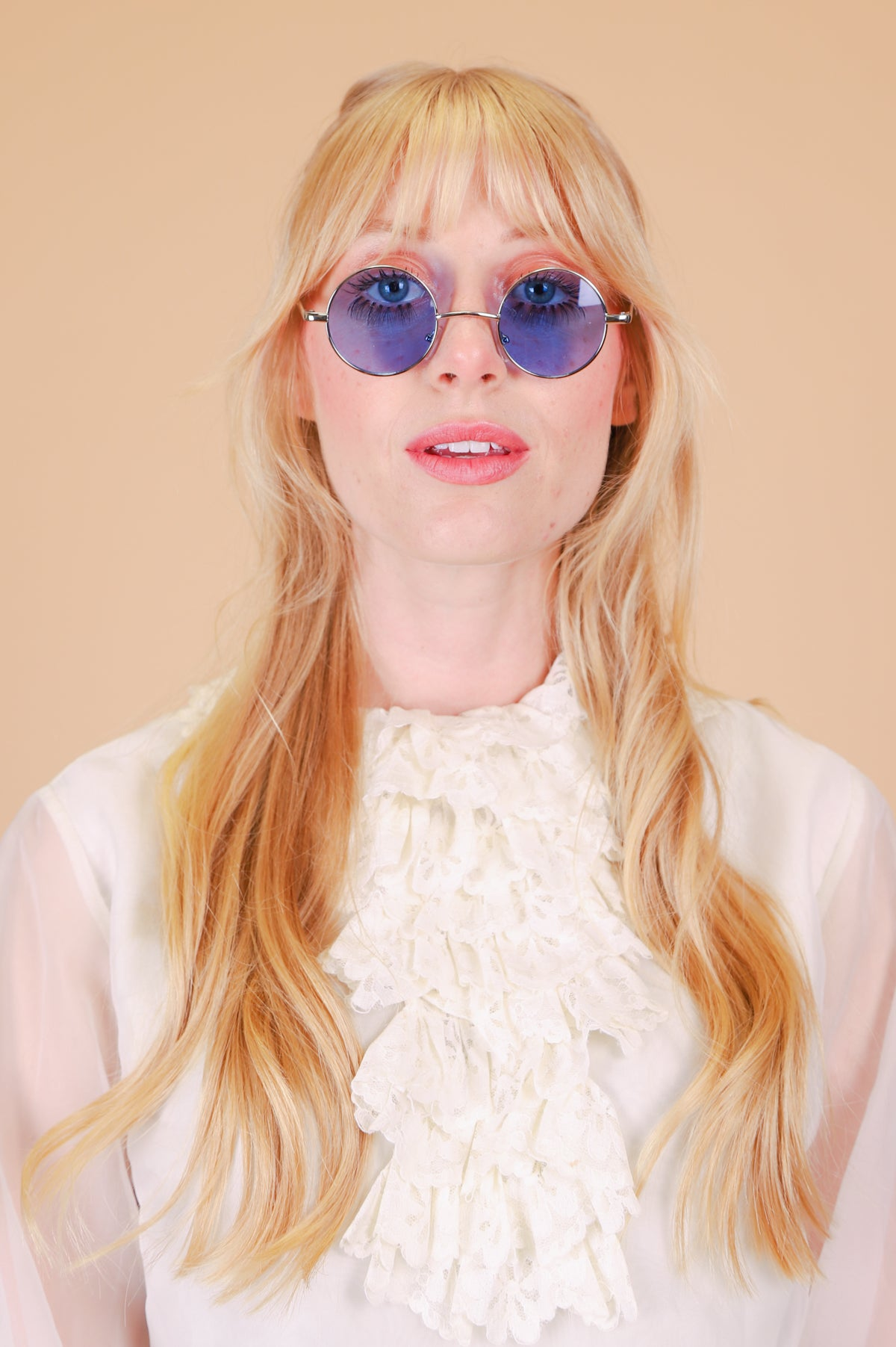 Pattie Sunglasses in Blue