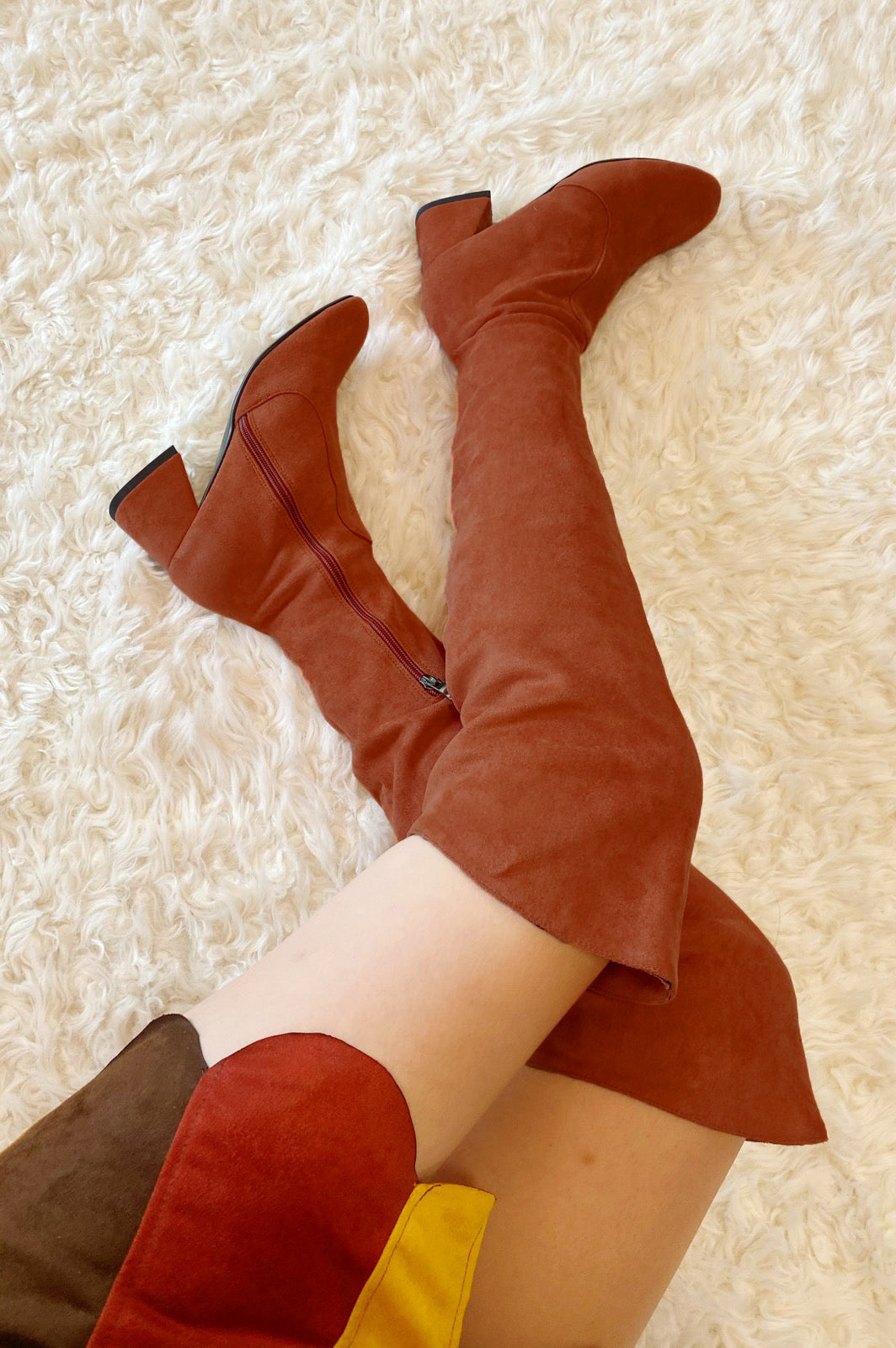 The Jane Boot in Caramel