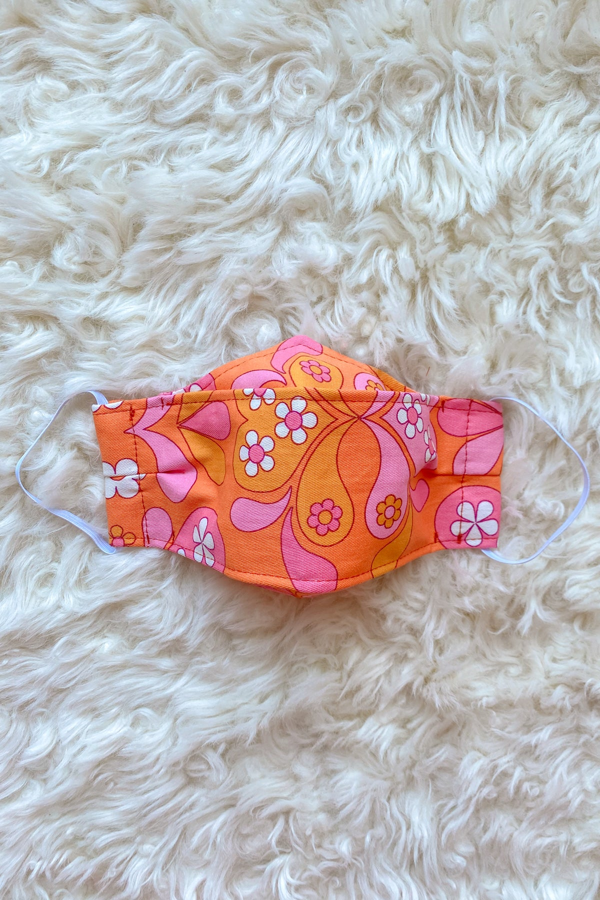Clementine Daisy Face Mask + Donation