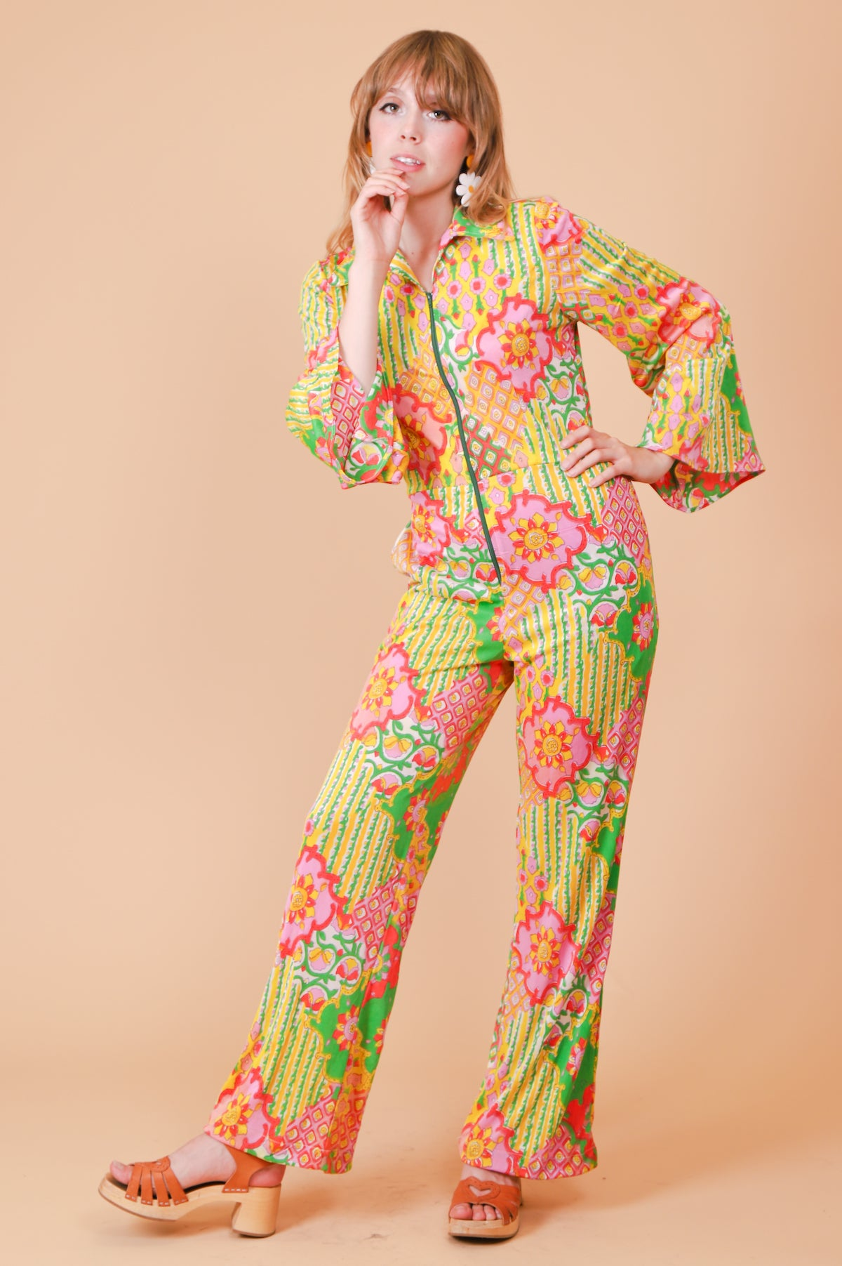 Vintage Garden of Earthly Delights Jumpsuit