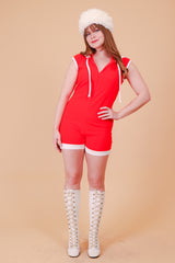 Vintage 1970's Strawberry Pop Romper