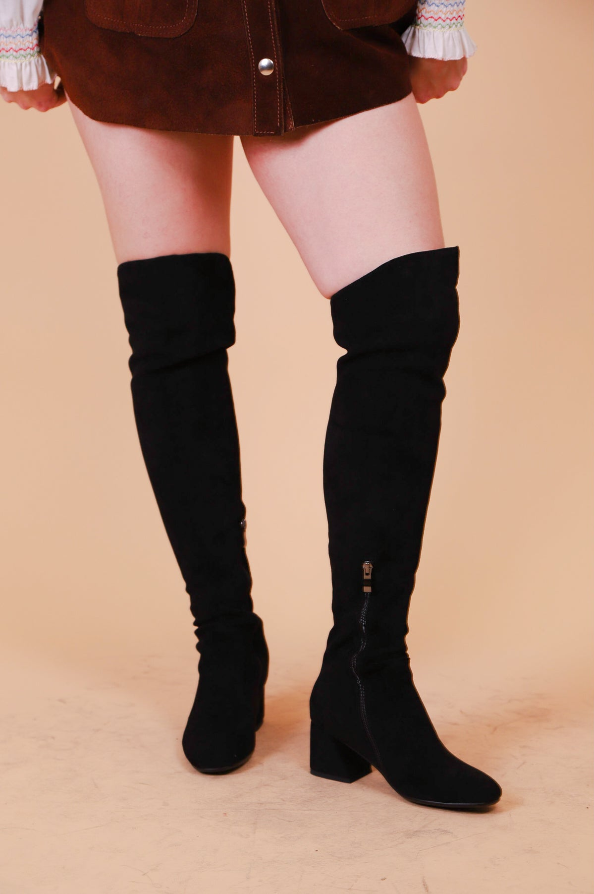 The Jane Boot in Black