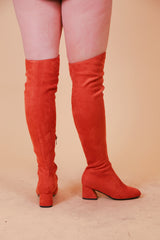 The Jane Boot in Peach