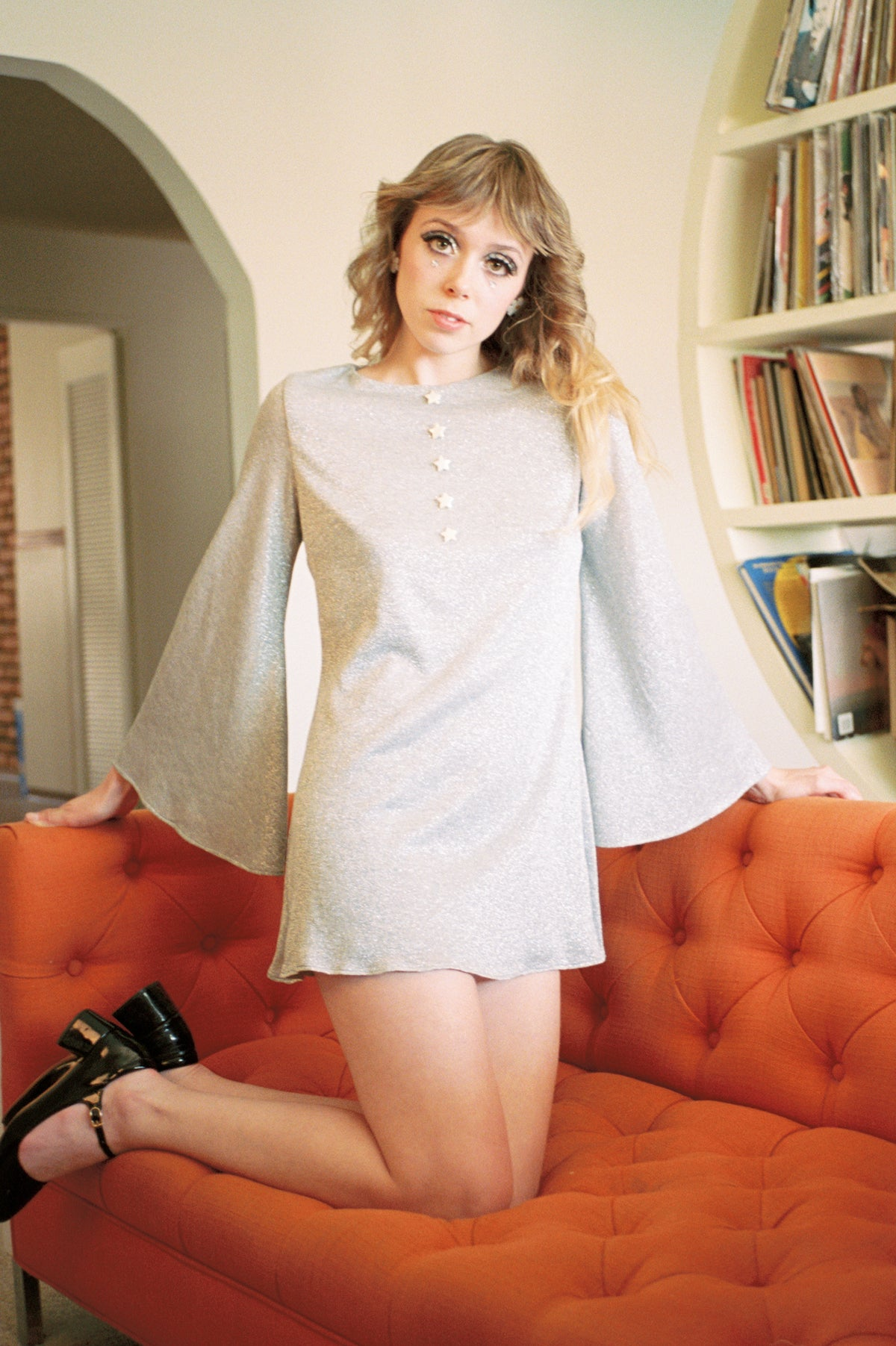 Tiny Dancer Silver Mini-Dress