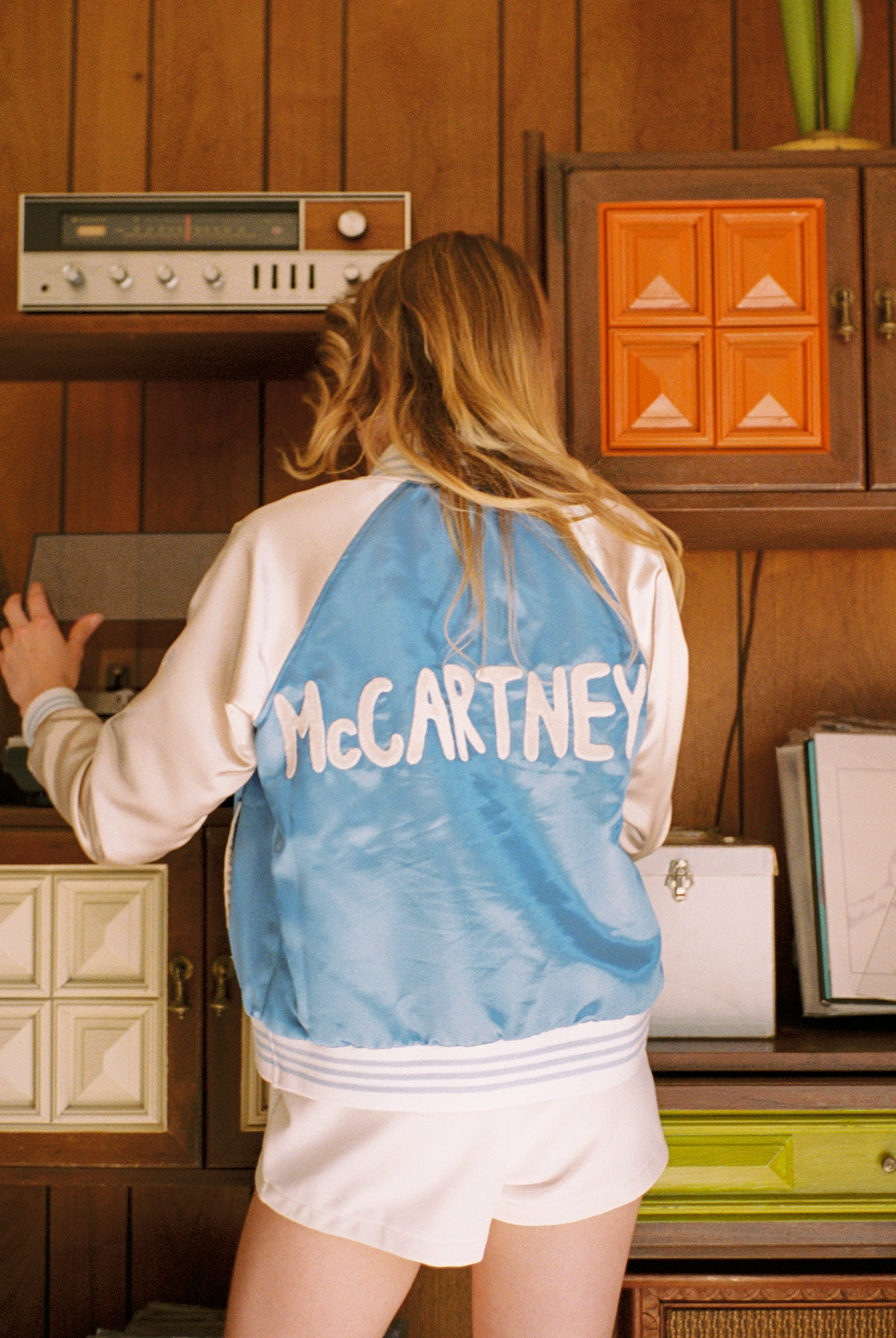 The McCartney Satin Jacket