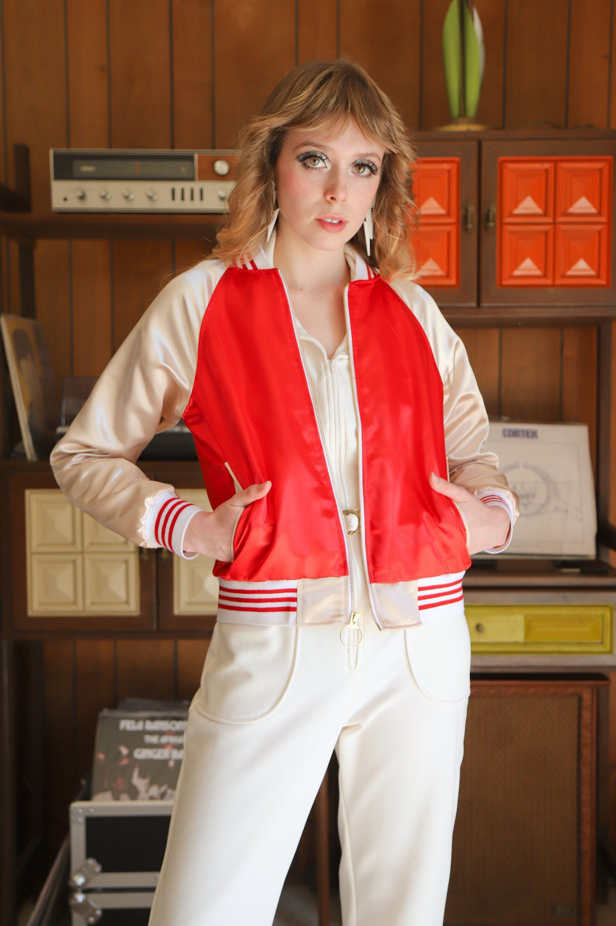 The Ziggy Satin Jacket