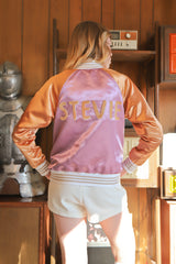 The Stevie Satin Jacket