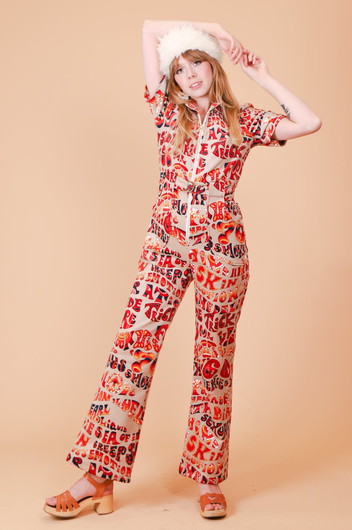 The Psychedelic Revolution Corduroy Jumpsuit