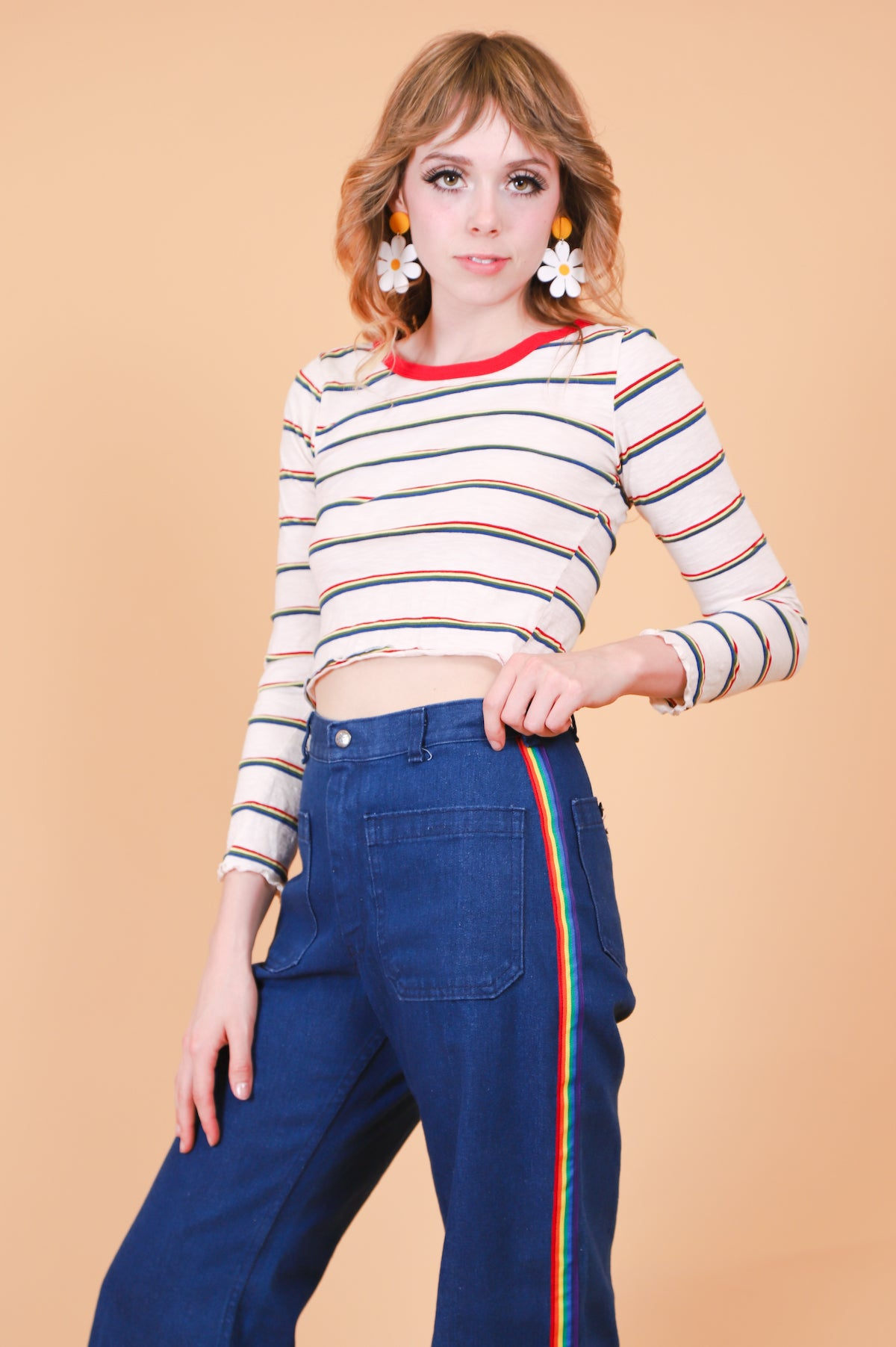 Vintage 1990's Rainbow Connection Top