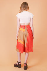Vintage 1970's Summertime Sunshine Skirt