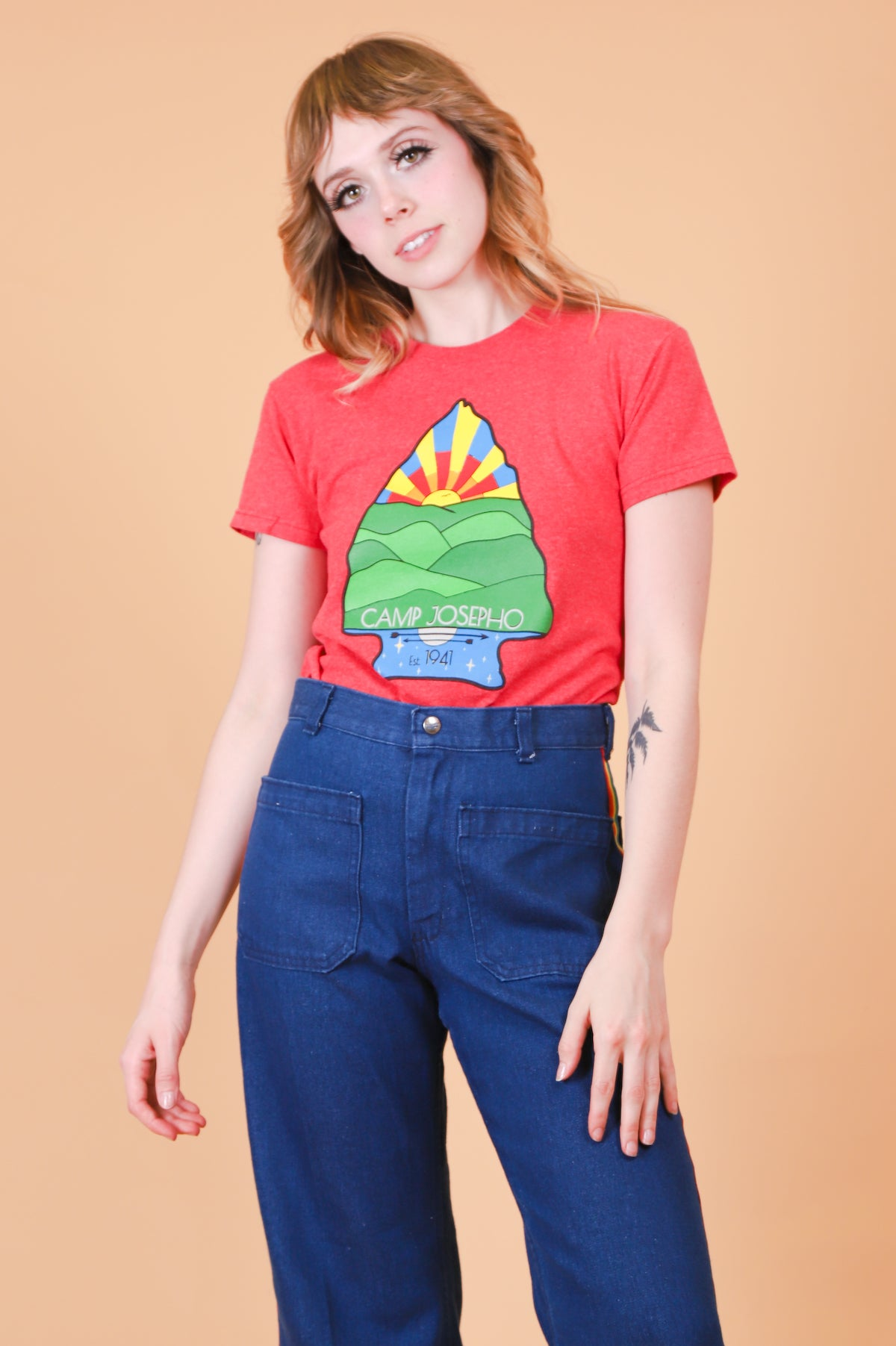 Vintage Camp Josepho Sunrise Tee