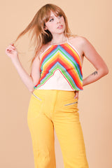 Vintage Rainbow Canyon Halter Top