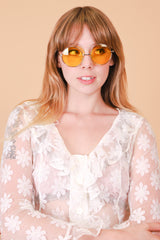 Lennon Sunglasses in Yellow