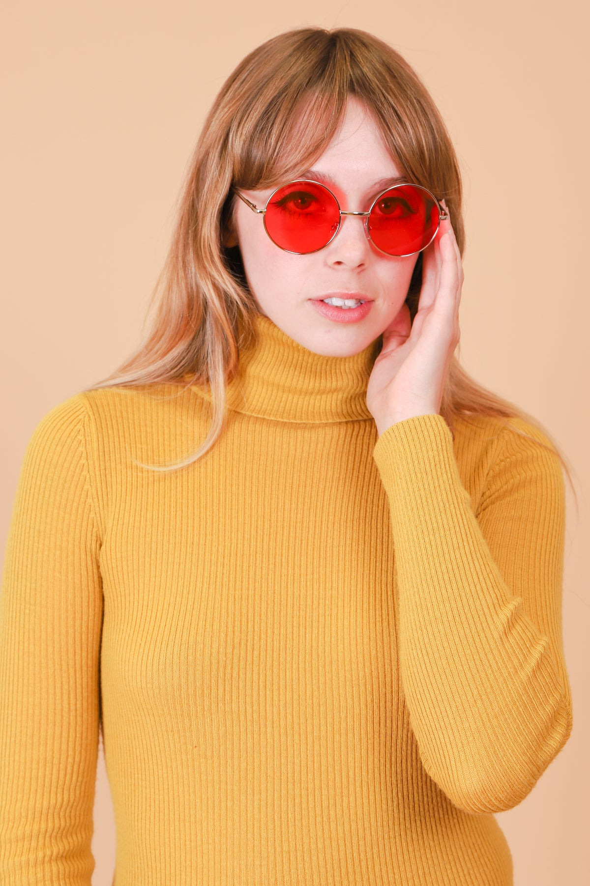 Lennon Sunglasses in Cherry