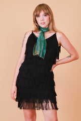 Vintage 1980's Flapper Nights Mini-Dress
