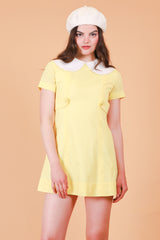 Vintage 1970's Sharon Lemon Mini-Dress