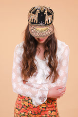 Vintage Golden Hour Embroidered Hat