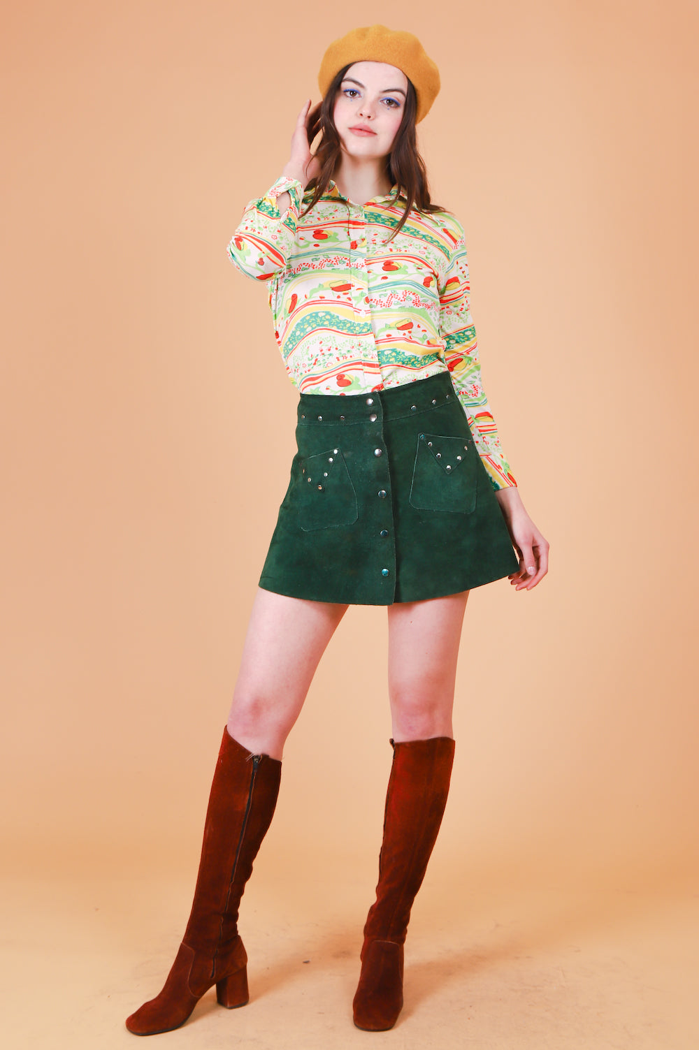 Vintage 1970's Grass Valley Top