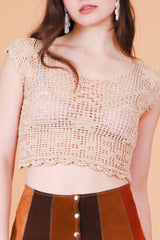 Vintage 1970's Canyon Woman Top