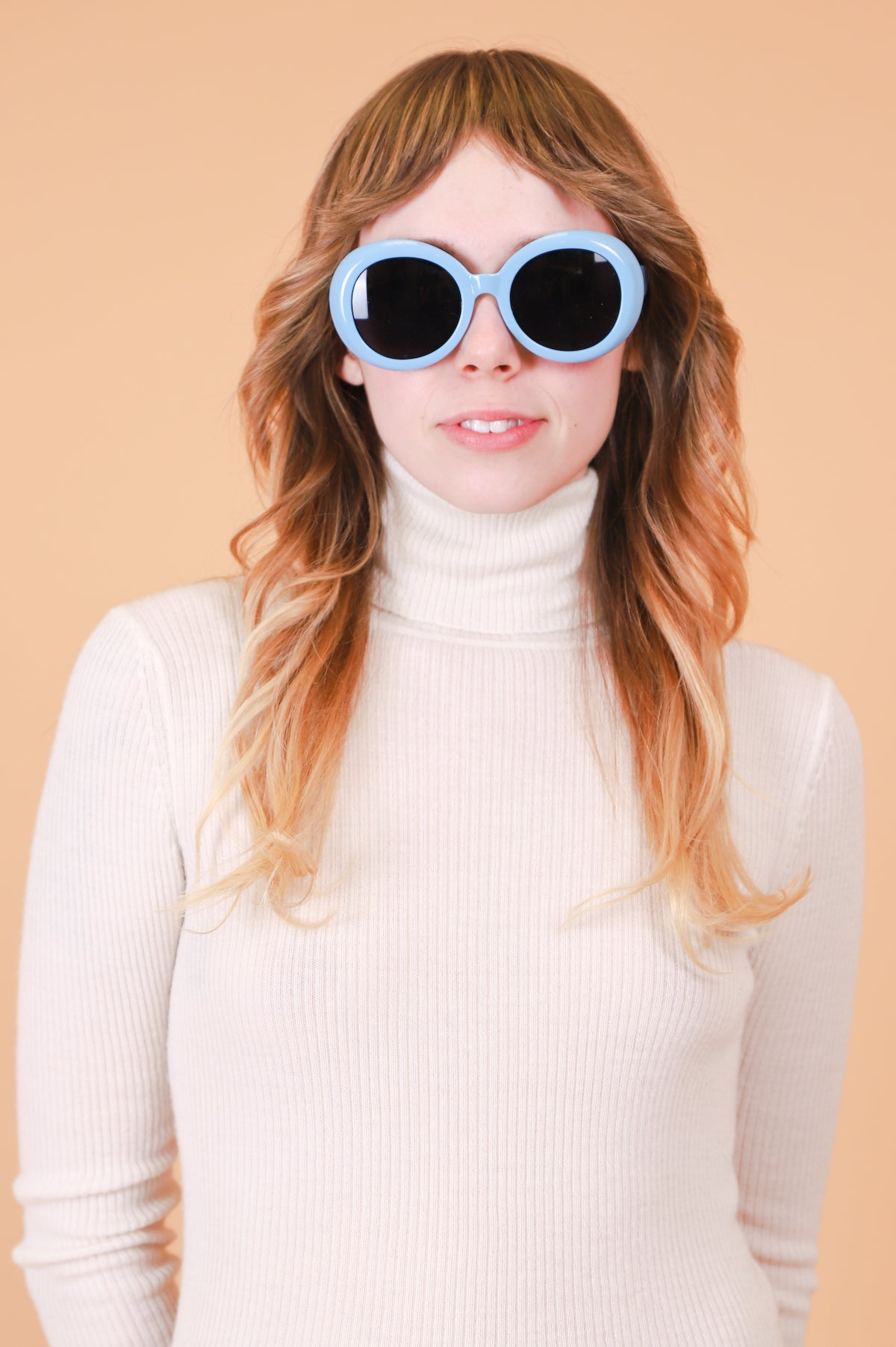 Warhol Sunglasses in Baby Blue