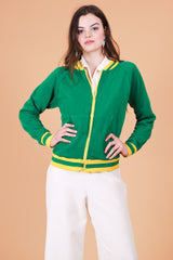 Vintage 1970's The Green Farrah Jacket